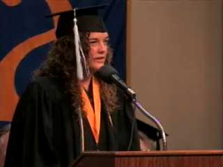 2010 Summer Commencement - Student Relection