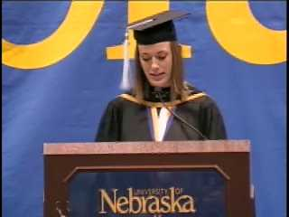 2010 Spring Commencement - Student Address