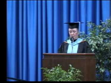 2009 Winter Commencement - Student Address